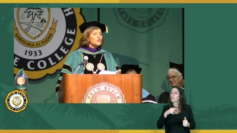 Thumbnail for entry Fall Commencement Ceremony 2015 - Chancellor Pumariega Speech