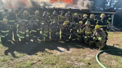 Thumbnail for entry Fire Academy #116 Graduation - December 16th