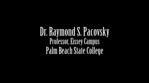 Thumbnail for entry 2015 Convocation - Dr. Raymond Pacovsky