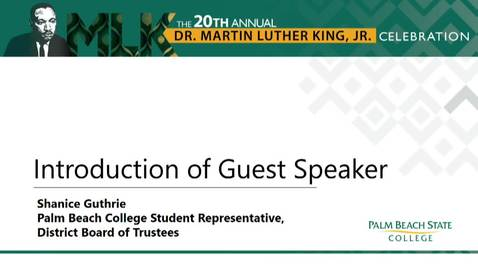 Thumbnail for entry MLK 20th - Tim Wise Speech