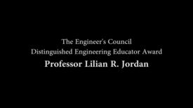 Thumbnail for entry Distinguised Engineering Educator Award