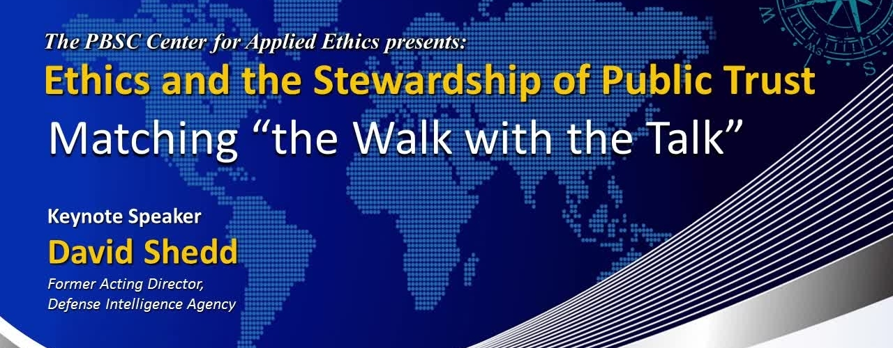 Ethics and the Stewardship of Public Trust