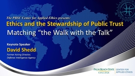 Thumbnail for entry Ethics and the Stewardship of Public Trust