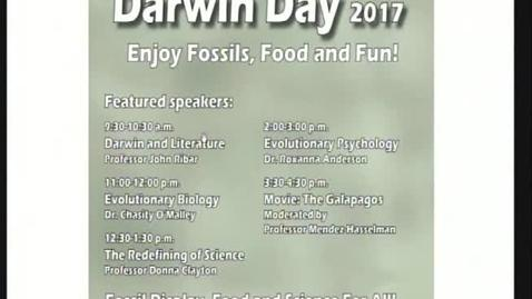 Thumbnail for entry 2017 Darwin Day - Redefining Science