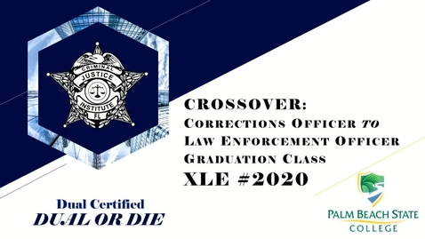 Thumbnail for entry Graduation for Academy XLE #2020 - October 22nd