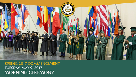 Thumbnail for entry Spring 2017 Commencement (Morning)