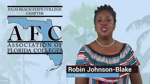 Thumbnail for entry Association of Florida Colleges - Palm Beach State College Chapter