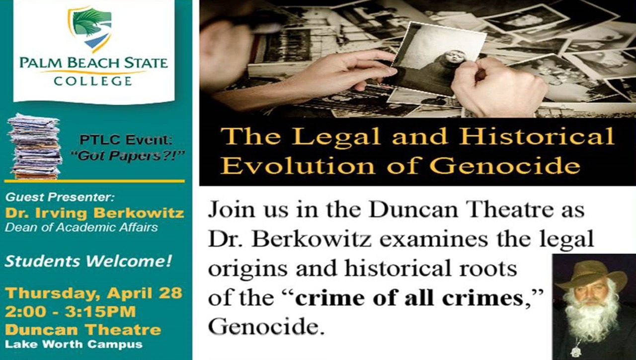 The Legal and Historical Evolution of Genocide