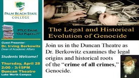 Thumbnail for entry The Legal and Historical Evolution of Genocide