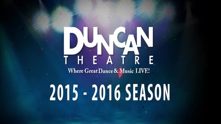 Duncan Theatre 2015 - 2016 Season