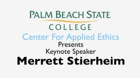 Thumbnail for entry Ethical Conduct In America – A Contemporary Crisis Keynote Address by Merrett Stierheim