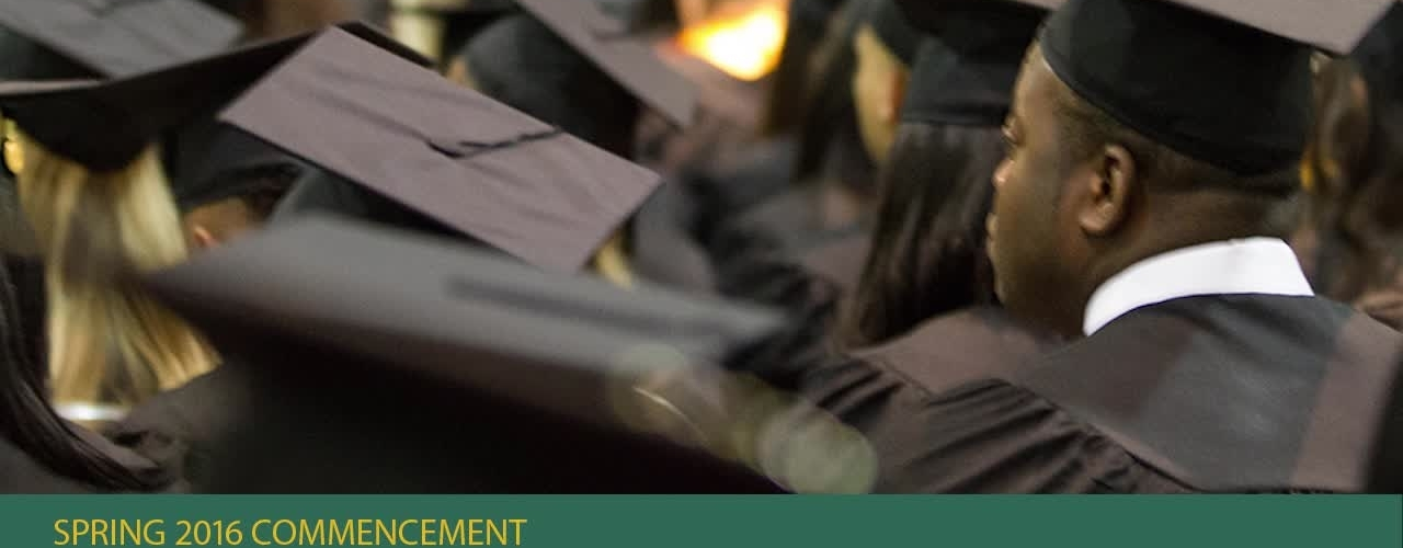 Spring 2016 Commencement - PM