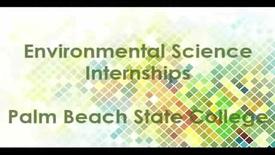 Thumbnail for entry Environmental Sciences Technology internships