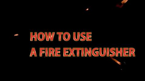 Thumbnail for entry Fire Extinguisher Training Video - PBSC
