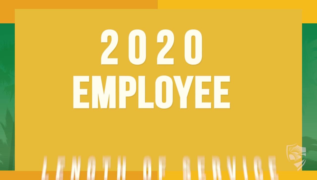 PBSC Employee Length of Service Award Program for 2020 - 04.30.21