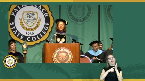 Thumbnail for entry Fall Commencement Ceremony 2015  2pm Confirmation of Associate in Arts Degrees