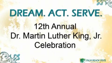 Thumbnail for entry Rev. Raphael Warnock - Keynote Speaker - PBSC MLK 2011