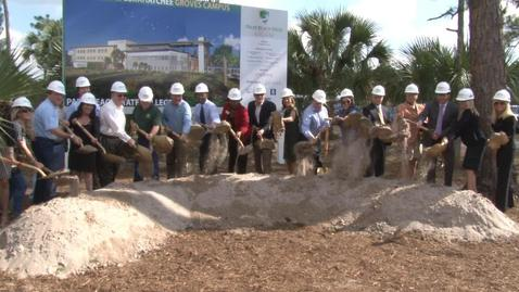 Thumbnail for entry Loxahatchee Groves Campus Groundbreaking