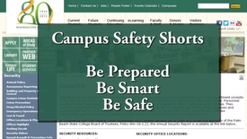 Thumbnail for entry Campus Safety Shorts