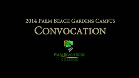 Thumbnail for entry 2014 FYE Convocation Gardens Campus