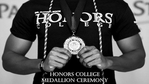Thumbnail for entry PBSC Honors College Medallion Ceremony - May 11, 2021