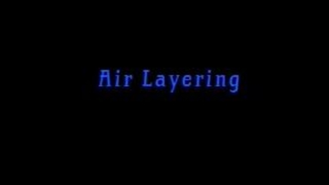 Thumbnail for entry Air Layering with Dr. George Rogers