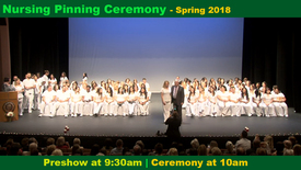 Thumbnail for entry Nursing Pinning Ceremony- Spring 2018