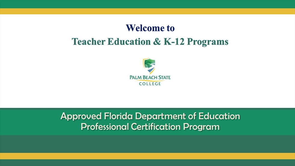 Information Session For Teacher Certification Program