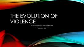 Thumbnail for entry Darwin Day 2019 - Evolution of Violence - Roxanna Anderson