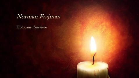 Thumbnail for entry INSIGHT - Holocaust Survivor - Norman Frajmam