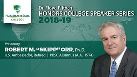 Thumbnail for entry Honors College Speak Series - PSD 108 - 1:00pm to 5:00pm