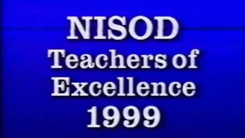 Thumbnail for entry 5-13168 Palm Beach Community College NISOD Teacher of Excellence 1999