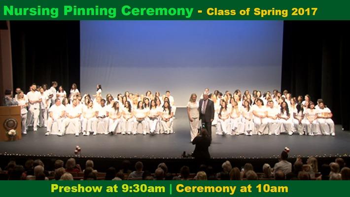 Spring 2017 Nursing Pinning Ceremony
