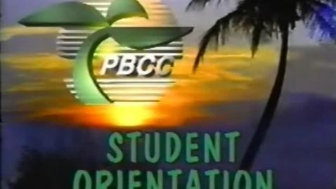 Thumbnail for entry 5-04695 PBCC Student Orientation Central Campus