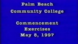 Thumbnail for entry 5-13177 Palm Beach Community College Commencement Exercises 1997
