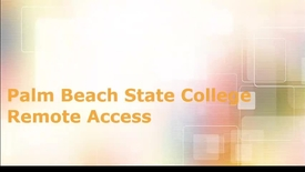 Thumbnail for entry How to Access the College's Remote Desktop