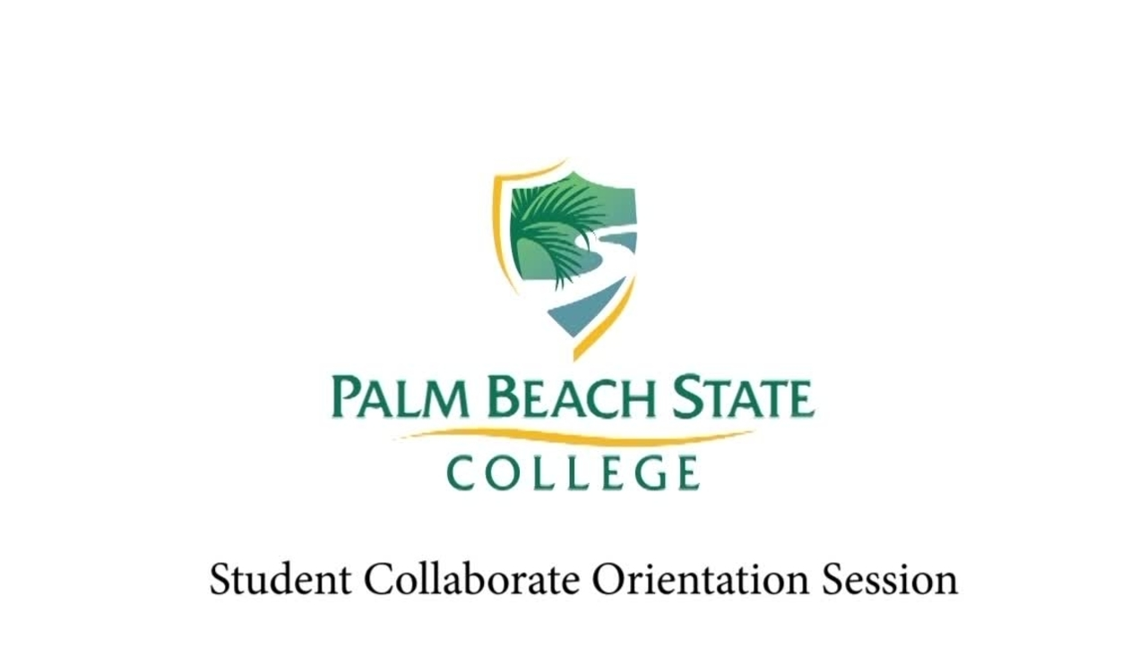 Student Collaborate Orientation Session