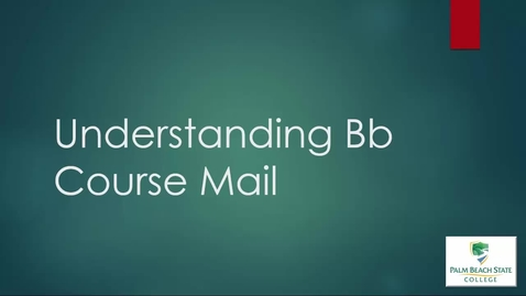 Thumbnail for entry ELO1000 - Understanding the Course Mail
