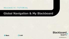 Thumbnail for entry My Blackboard