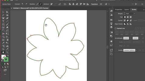 Thumbnail for entry illustrator 4- Eye Dropper + Colour  Fill