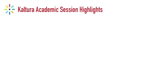Thumbnail for entry Kaltura Academic Session