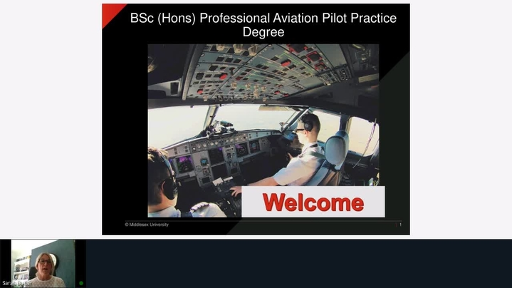 Thumbnail for channel Studying Professional Practice (Aviation) at MDX