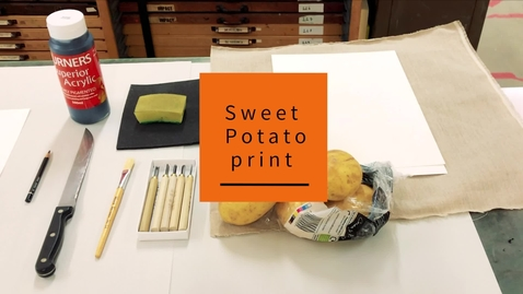 Thumbnail for entry Sweet Potato print
