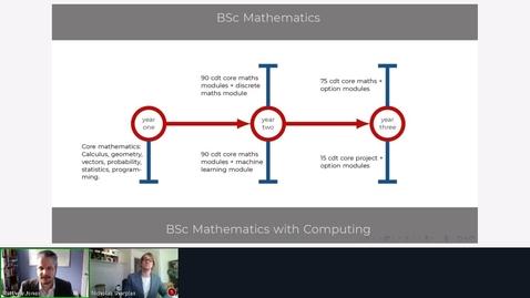 Thumbnail for entry Rec - 10 Jun 2020 11:36 - Mathematics at Middlesex University.mp4