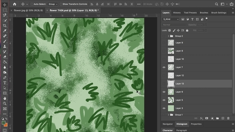 Thumbnail for entry photoshop 13 - Editing Layers