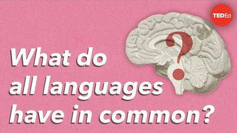 Thumbnail for entry What do all languages have in common? - Cameron Morin