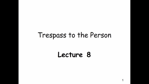 Thumbnail for entry Lecture 8 - 2018 Nov 26