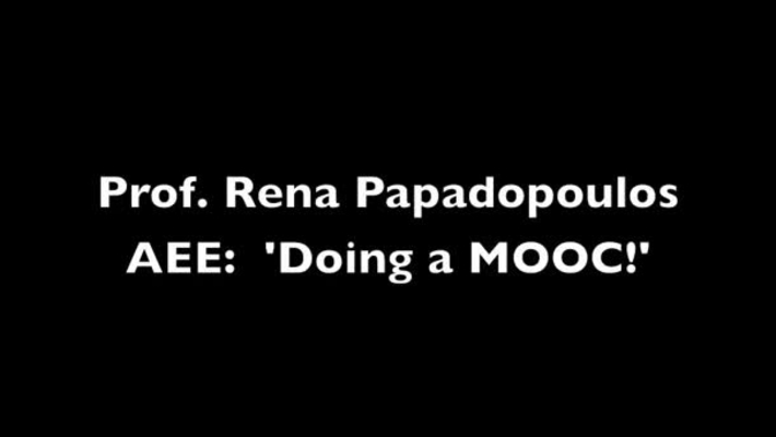 AEE: Professor Rena Papadopolous