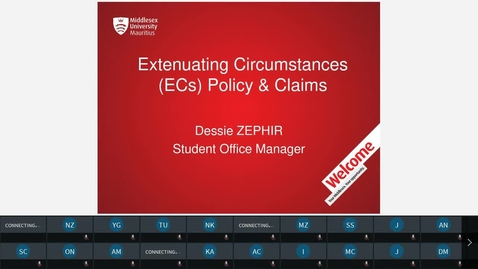 Thumbnail for entry Extenuating circumstances (ECs) Policy & Claims