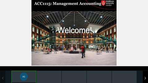 Thumbnail for entry Rec- Sep 22, 2021 4:15 PM - ACC1115 Agnes Session.mp4